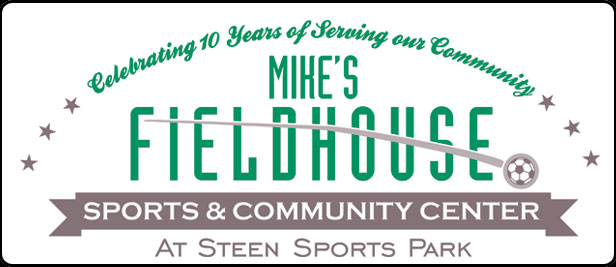Mikes Field House 10th Logo 2c